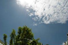 高的云彩 免版税库存图片