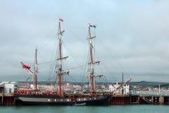 高的帆船 彭布罗克角的厄尔 免版税库存图片