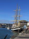 高的帆船 免版税图库摄影