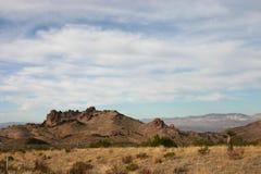 高的沙漠 免版税库存照片