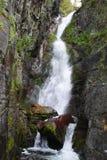 高的瀑布 库存照片