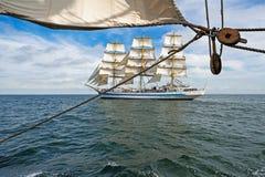 高的船 免版税库存照片