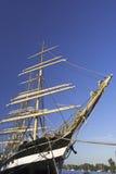 高的船 库存图片