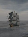 高的船 免版税库存图片
