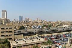 高的高速公路开罗 免版税图库摄影