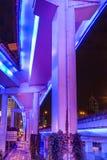 高的高速公路 免版税库存图片