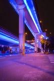 高的高速公路 免版税图库摄影