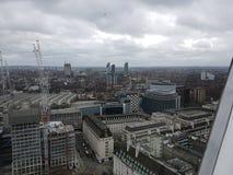 从高看法上的伦敦 图库摄影