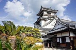 高知城堡在高知专区,日本 免版税库存图片