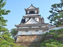 高知城堡在高知,高知专区,日本 免版税图库摄影