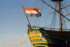 高码头的船 库存照片