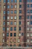 高砖瓦房在亚特兰大 库存照片