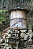 高秋天峡谷,威明顿,纽约,美国 免版税库存照片
