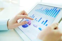 高科技分析 免版税库存图片