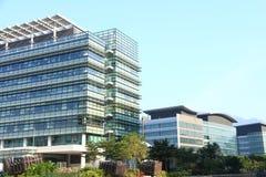高科技办公室在香港 免版税库存照片