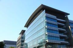 高科技办公室在香港 免版税库存图片