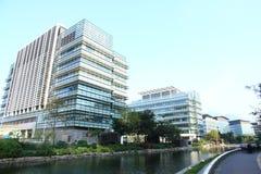 高科技办公室在香港 免版税图库摄影
