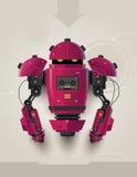 高科技未来派机器人02 免版税库存照片