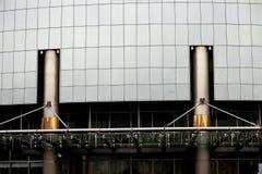 高科技样式大厦 免版税库存照片