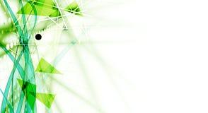 高科技eco绿色无限计算机科技概念backgro 图库摄影