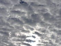 高积云在罗马 库存图片