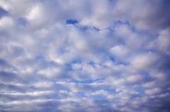 高积云样式 图库摄影