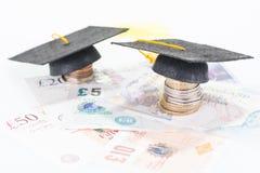高等教育的储款 库存照片
