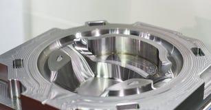 高精度和质量汽车零件工业顶头cyli 免版税库存照片