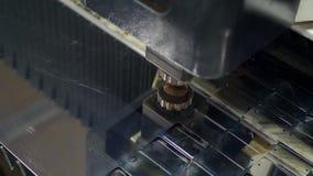 高精度CNC气割金属板 股票录像