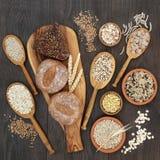 高纤维健康食品 免版税库存照片