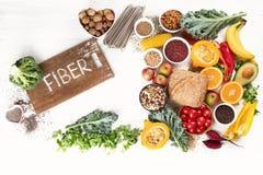 高纤维食物 免版税图库摄影
