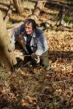 高级伐木工人 免版税库存图片