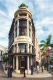 高级商店,德顿方式的交叉点,通过圈地和圈地 免版税库存照片