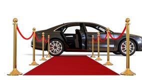 高级大型高级轿车 向量例证