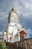高级教士Nikolay寺庙  图库摄影