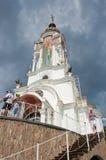 高级教士Nikolay寺庙  库存图片