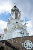 高级教士Nikolay寺庙  免版税库存图片
