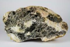 高级银色矿石-蒙大拿美国 库存图片