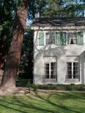 高级维多利亚女王时代的房子 免版税库存照片