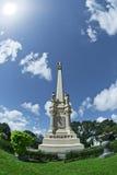 高纪念碑坟墓标志 免版税库存图片