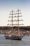 高肖邦fryderyk被抢救的船 库存图片