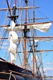 高船垂直视图 库存图片