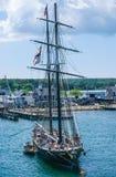 高船马萨葡萄园岛 免版税库存图片