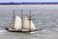 高船` Swaensborgh ` 免版税图库摄影