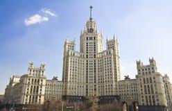 高莫斯科上升俄国 库存照片