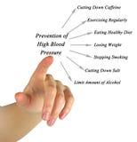 高血压的预防 库存照片