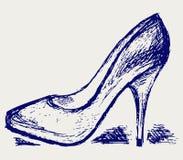 高跟鞋 免版税图库摄影