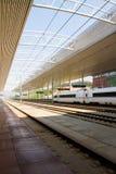 高速中国的铁路 库存图片