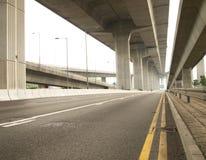 高速公路业务量 免版税图库摄影