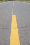 高速公路中心线 库存图片
